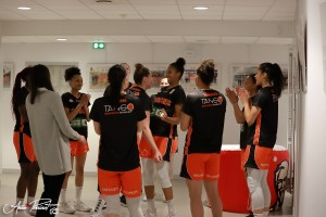 1/2 finale aller : Tango Bourges Basket - Montpellier (27/04/2019)