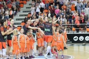 Finale 1 LFB : Tango Bourges Basket - Tarbes (19/05/2018)